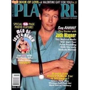 Playgirl Magazine: February 1996: Charmian Carl: Books