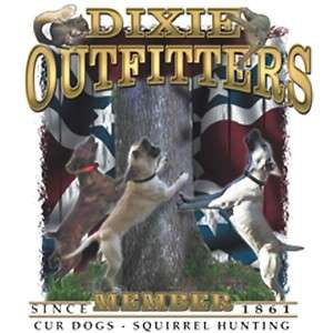 Dixie Rebel Hunting Dogs  CUR DOGS..SQUIRREL HUNTING