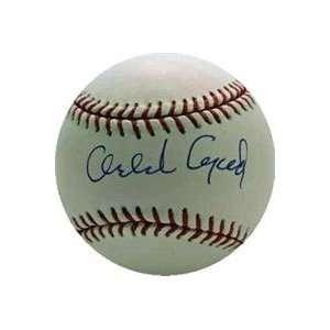 Orlando Cepeda autographed official National League Baseball (San