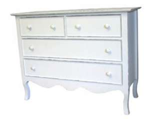 Coastal COTTAGE CHEST French Country DRESSER 40 Painted Colors