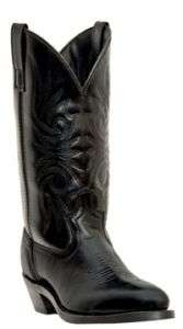 NEW LAREDO Mens Black Leather Boots 10.5 EW Style 4240