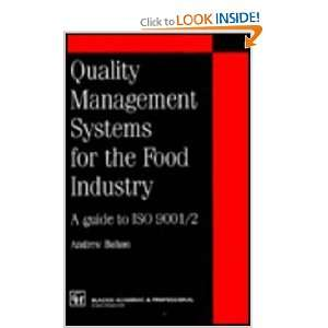 Quality management systems for the food industry (Chapman