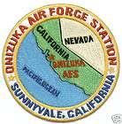 USAF BASE PATCH, ONIZUKA AIR FORCE STATION, SUNNYVALE C