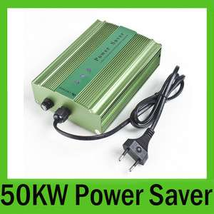 50KW Power Saver Save Electricity Energy 35% Less Money Saving