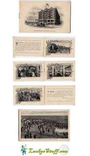 THE WILTSHIRE Atlantic City NJ   c1910 Booklet ELLIS New Jersey