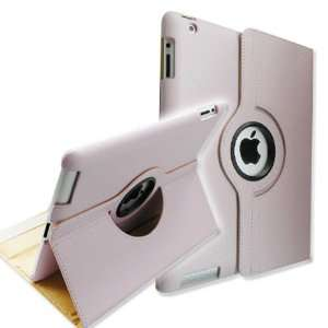 Fintie Light Purple 360 Degree Rotating Stand Smart Cover Leather Case