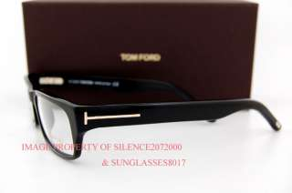 Brand New Tom Ford Eyeglasses Frames 5130 001 BLACK Men