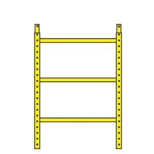 Werner Ladder 0127 102 Bil Jax Scaffolding 39 in. H Ladder
