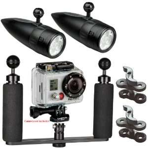 BigBlue Underwater Video Lighting System for GoPro Hero2
