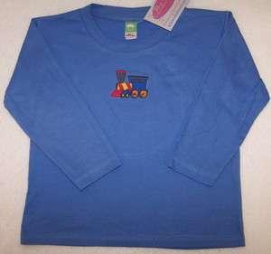 Choo Choo Train Cute Long Sleeve Baby or Toddler Shirt