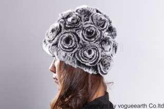 511 new real wool line rabbit fur 4 color hat /caps