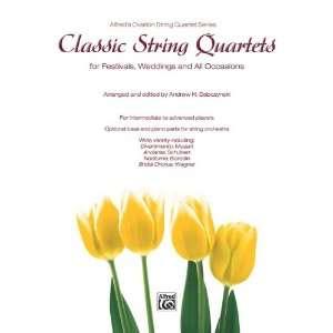 Classic String Quartets for Festivals, Weddings, and All