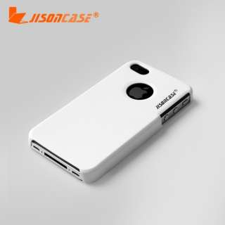 WHITE HARD CASE COVER PROTECTOR FOR IPHONE 4 4S ULTRA SLIM