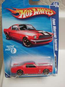HOT WHEELS 2010 #06/10 67 FORD MUSTANG FASTBACK FTE