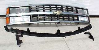 88 89 90 91 92 93 CHEVY Truck 11Pc Chrome Grill Kit