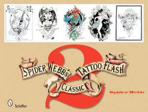 BARNES & NOBLE  Spider Webbs Classic Tattoo Flash 1 by Spider Webb