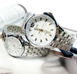 New Fashion Style Heavy Cut Glass Surface Mens Ladies Watches Wrist