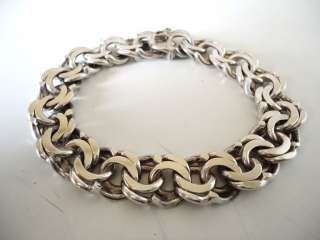 HEAVY 47g 925 MEXICO MEXICAN STERLING SILVER CHAIN BRACELET