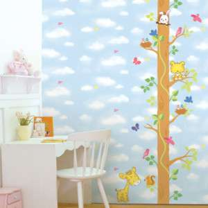 FOREST STORY Nursery Kids room Decor DIY Wall Stickers