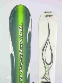 Used Rossignol Bandit Jr Snow Skis with Rossignol Comp J Binding 138cm