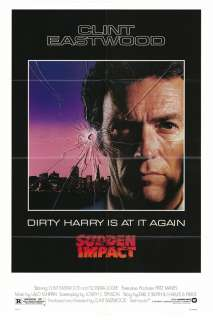 SUDDEN IMPACT MOVIE POSTER FOLDED 27x41 CLINT EASTWOOD