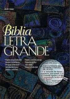 BARNES & NOBLE  Biblia letra grande   Piel vino by Editorial Caribe
