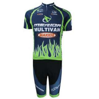 Bike Bicycle Sports Clothing Jersey Short Sleeve Sportswear Set