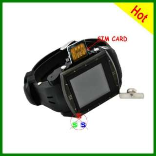 UNLOCKED WATERPROOF WATCH CELL PHONE MOBILE  2GB G2
