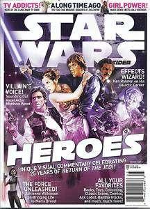 STAR WARS INSIDER MAGAZINE KEN RALSTON FORCE UNLEASHED