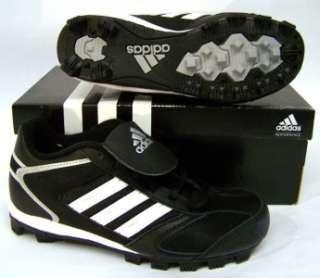 Adidas G08131 Triple Star 7 Low Baseball Cleats Mens Sz 13 Black White