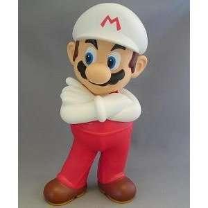 Nintendo Super Mario Bros Fire Mario 8.5 Inch Pvc Figure