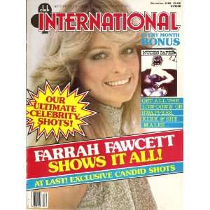 1982 FARRAH FAWCETT: CLUB INTERNATIONAL MAGAZINE:  Books