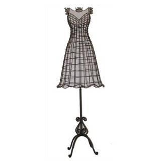 High Fashion Wire Mannequin Lifesize Decorative Display Dress