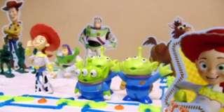Toy Story Woody, Jessie, Bullseye, Alien, Buzz 21 Piece Birthday Cake