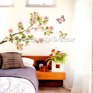 CHERRY BLOSSOM DECALS MURAL WALL DECOR STICKERS #280