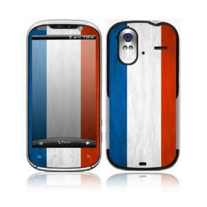Flag of France Decorative Skin Cover Decal Sticker for HTC