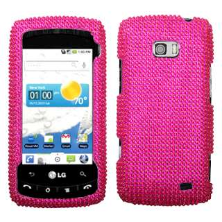 BLING Phone Cover Case 4 LG ALLY vs740 Verizon HOT PINK
