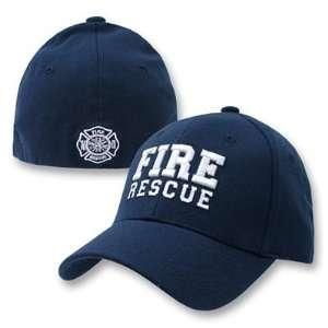 FIRE RESCUE Flex Fit Navy Cap SM/MED