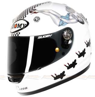 Suomy Vandal La Cocca Full Face Motorcycle Helmet Medium