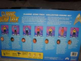Classic STAR TREK Crew USS Enterprise Limited Edition Collectible