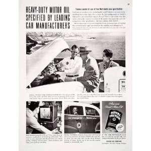 1951 Ad Royal Triton Union Purple Oil 76 Unocal Station