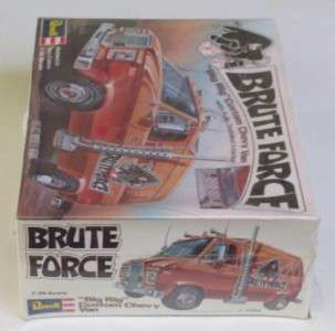 Chevy Van Brue Force Big Rig Revell SEALED Vg 70s 125 Model Ki H