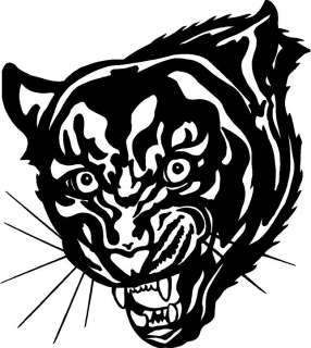 Panther Head Large Vinyl Decal Car Truck Window Sticker