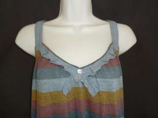 NWT Kimchi Blue Striped Tank Shirt Urban Outfitters L