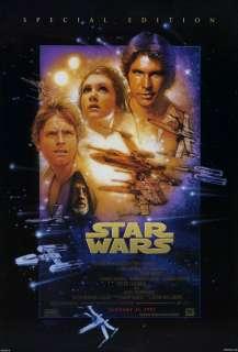 Star Wars / Empire Strikes Back / Return Jedi original movie poster