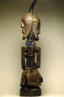 LARGE SONGYE JANUS FIGURE   ARTENEGRO Gallery with African Tribal Arts