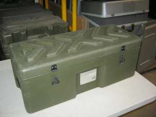 Unk 28x13x11 Hinged Lid Plastic Hard Military Ship Case for Caisi
