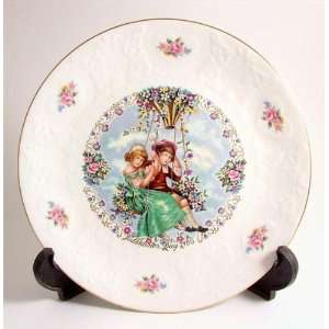 Royal Doulton Valentines Day 1980 my valentine plate CP233