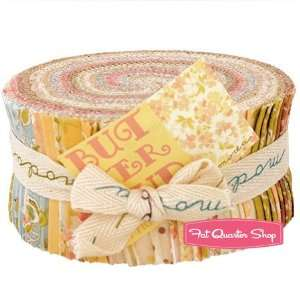 Buttercup Jelly Roll   Fig Tree Quilts for Moda Fabrics