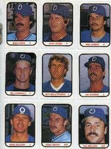 1981 Omaha Royals MIKE JONES Pittsford NY